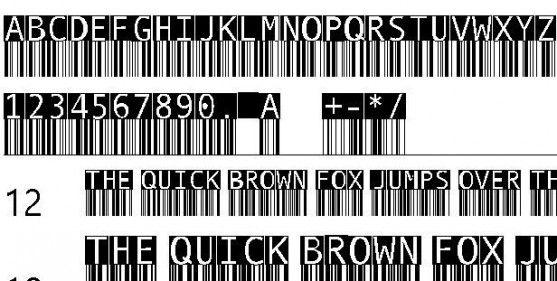 Font Barcode Free Download - BarMKode-Inverse (TrueType)