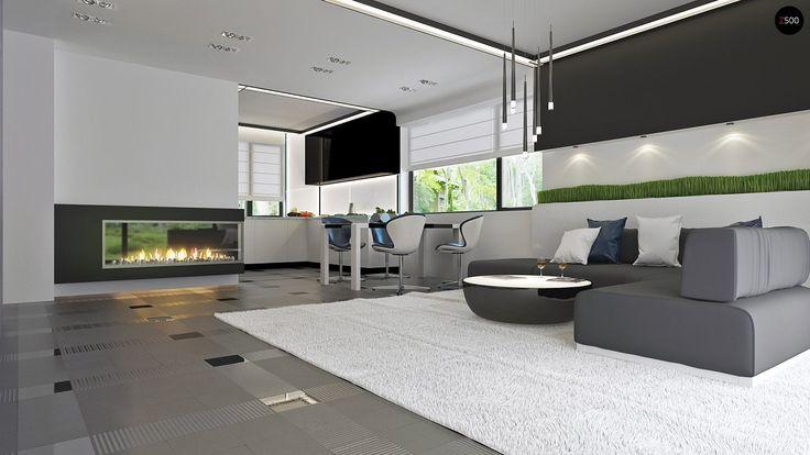 Проект Z273 Проект стильного одноэтажного дома в классическом стиле. - Z500 - Проекты домов и гаражей