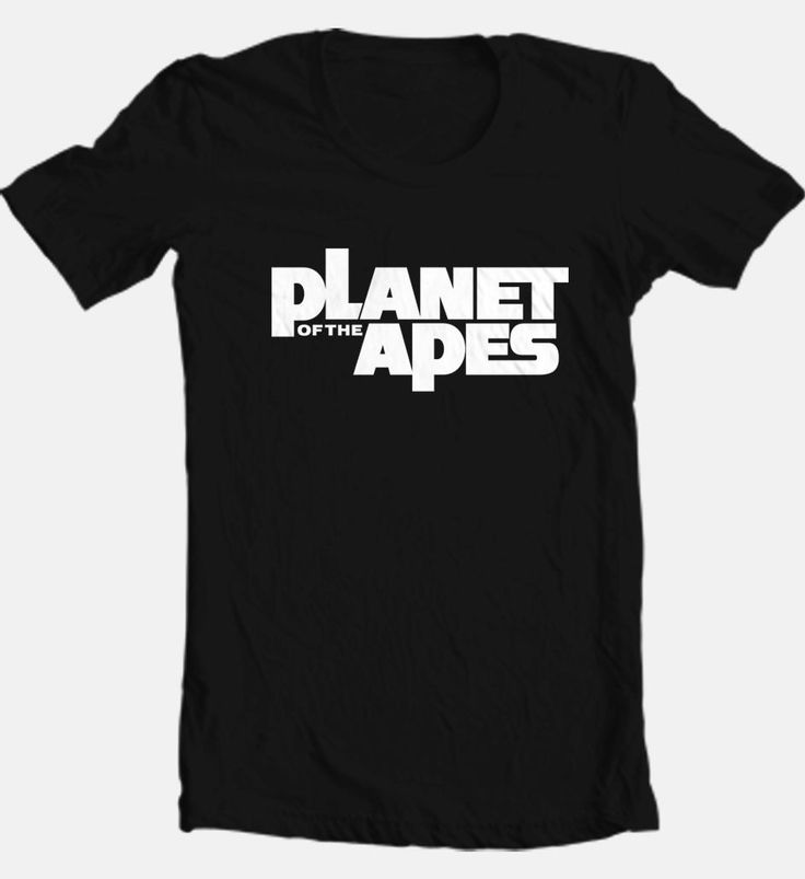 Planet of The Apes Logo T Shirt Vintage 70's Sci Fiction Movie Retro Tee Shirt   eBay