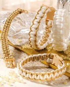 """Edles Armband mit Paracord (Idee mit Anleitung – Klick auf """"Besuchen""""!) - Diese stylischen Armbänder flechten ist eine tolle Sache für modebewusste Mädchen auf den Kindergeburtstagen!"""