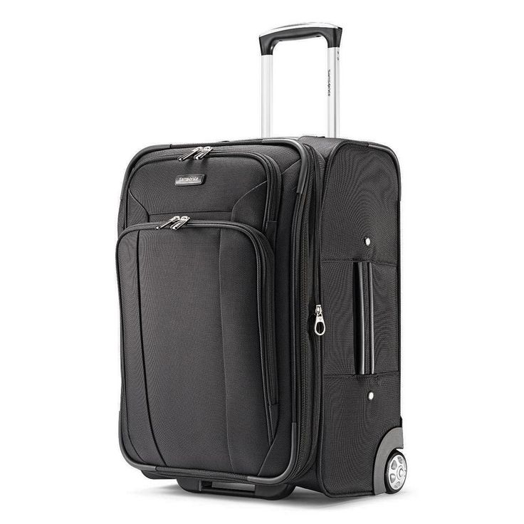 Samsonite Hyperspin 2 21-Inch Wheeled Carry-On Luggage, Black