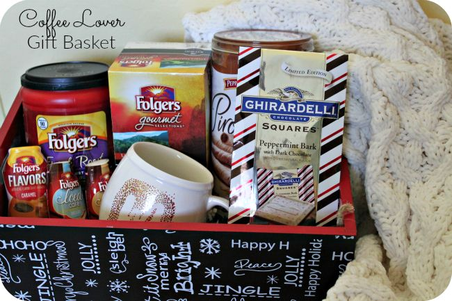 A Coffee Lovers Gift Basket