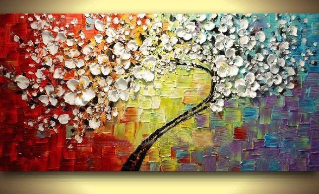 Китайские картины на стене Украшения Дома Современный росписи декора для спальни Картина Маслом 1 панель wall art рамки искусства A035
