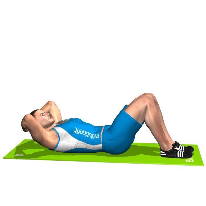 Crunch a terra - Guida Pratica addominali piatti e scolpiti, ecco come otteneli! Parte 3 - Gli esercizi a corpo libero. :: Fitness & Wellness salute e benessere