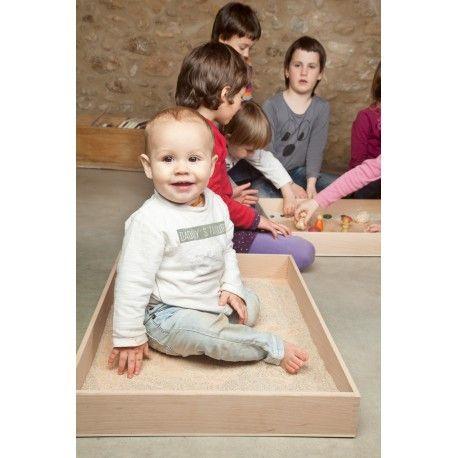 Caja de juego de madera
