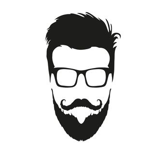 hipster barbe dessin - Recherche Google