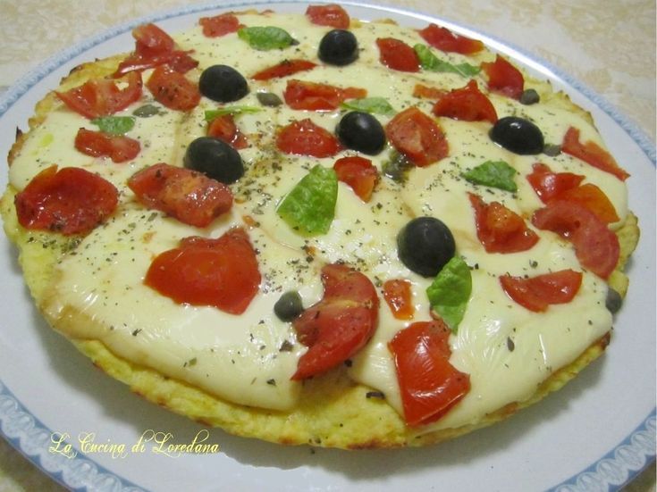 Pizza di patate con scamorza e pomodorini