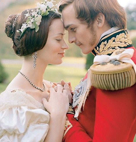 Young Victoria the movie starring Emily Blunt  and Rupert Friend