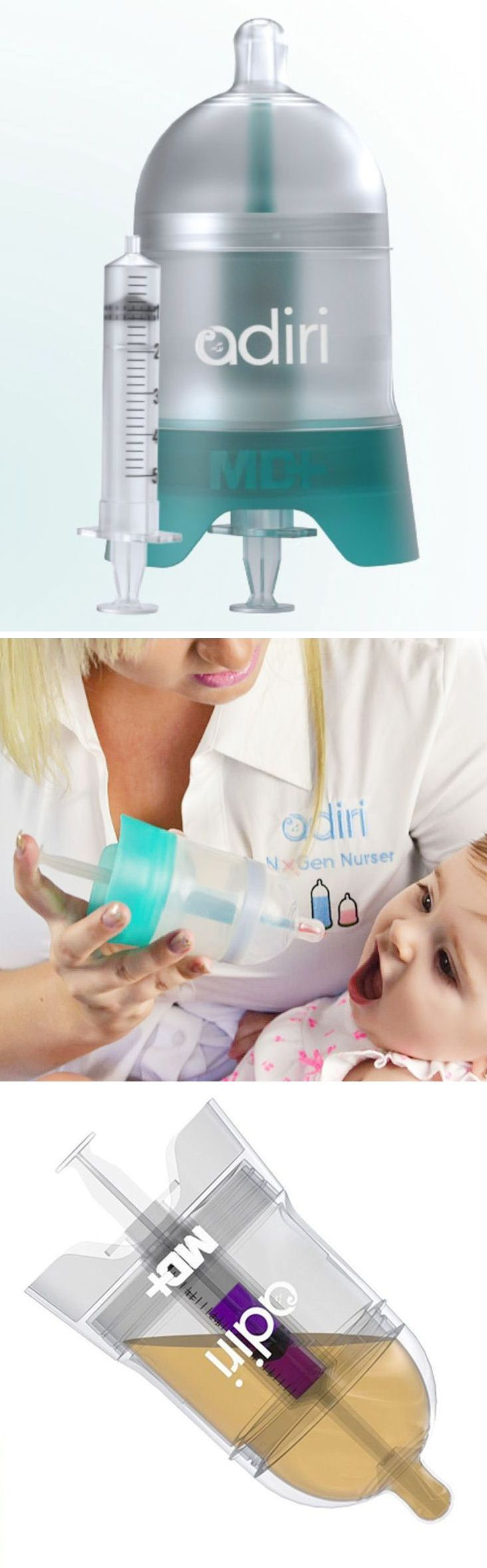 Adiri Medicine Delivery System- take the stress out of giving your little one medicine!