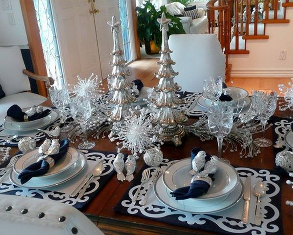 Elegant Christmas Centerpiece Trends For 2012 Table DecorationsChristmas