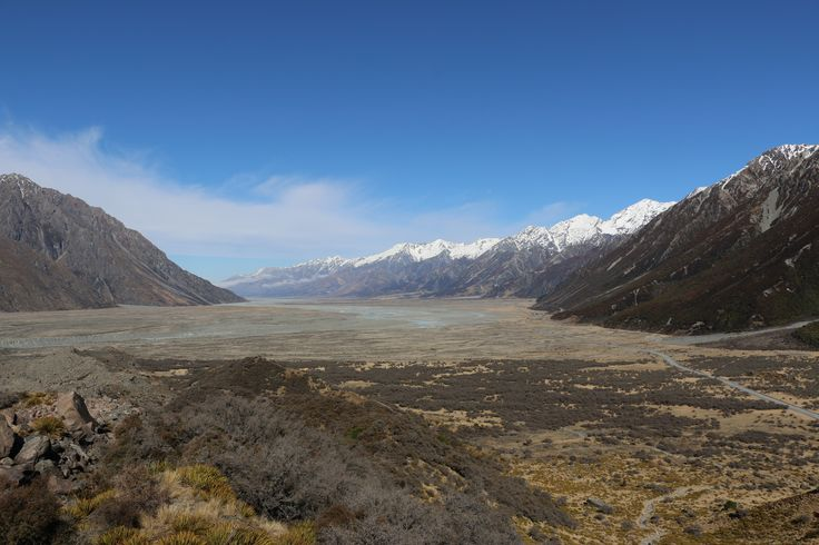 Tasman Valley, Mt Cook National park New Zealand #mtcook #tasmanvalley #silberhorn #nz #purenz