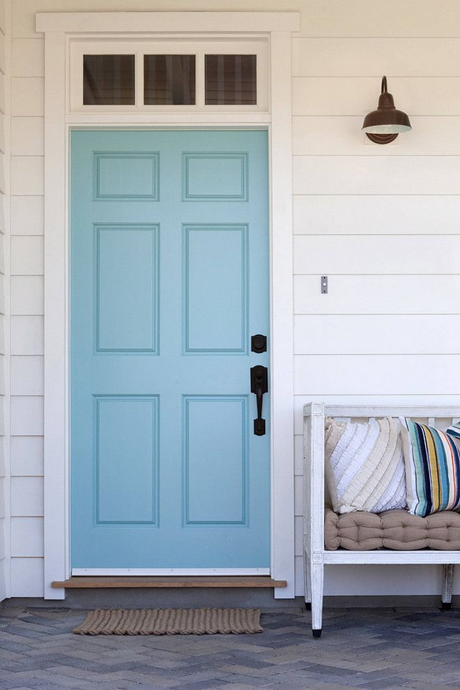 The 25 best blue front doors ideas on pinterest - Front door colors for blue house ...