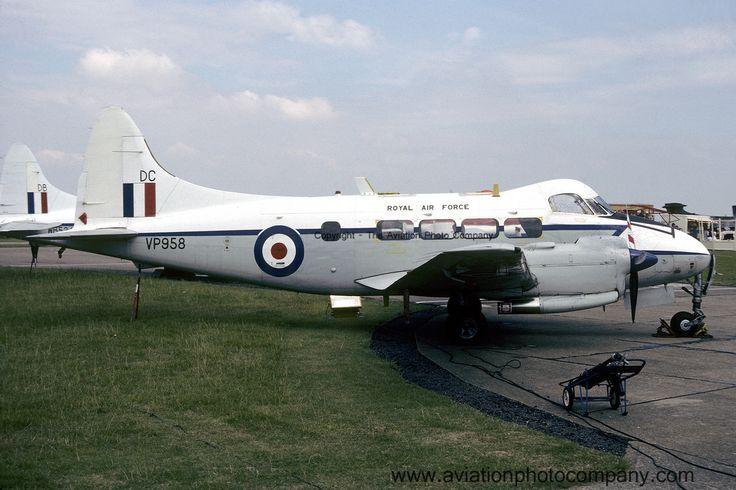 RAF 207 Squadron De Havilland Devon C.2 VP958 (1982)