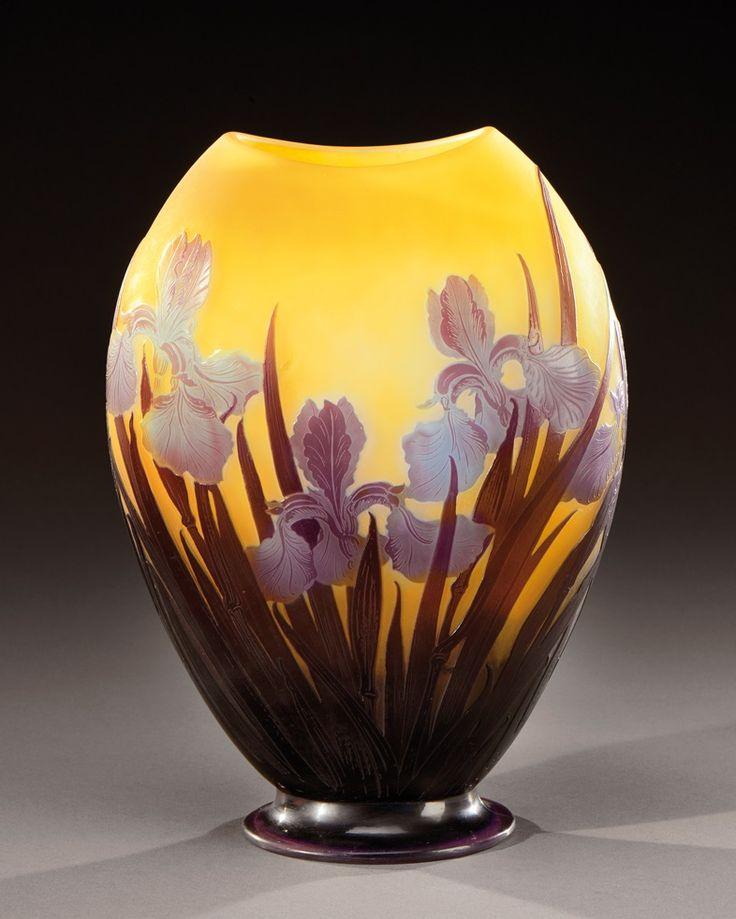 453 best Gallé images on Pinterest | Art nouveau, Glass ...