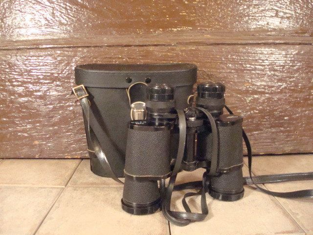 Bushnell binoculars with case- fine condition, functional, 7 x 35, Ensign by HeathersCollectibles on Etsy