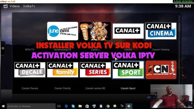 INSTALLER VOLKA TV SUR KODI ET ACTIVATION SERVER VOLKA IPTV