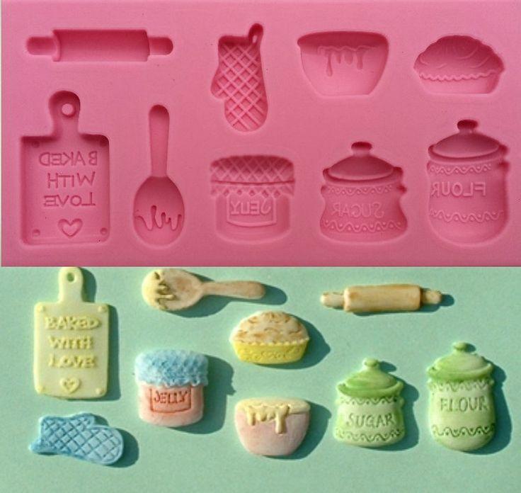 Home Baking - Silicone Mold #HomeBakingSiliconeMold