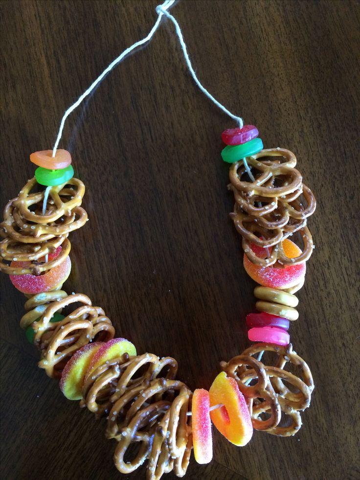 pretzel necklace - Google Search