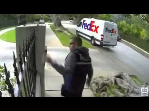 ▶ Shocking FedEx Delivery Fails [Super Cut Compilation] - YouTube