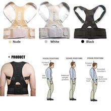 Magnetic Therapy Posture Corrector Brace Shoulder Back Support Belt for Men Women Braces & Supports Belt  Shoulder Posture //Price: $US $7.83 & FREE Shipping //