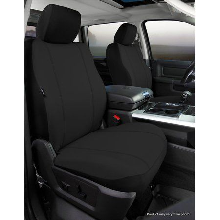 Clazzio 245811blkk Black Leather Front Row Seat Cover for Toyota Rav4 Sports//