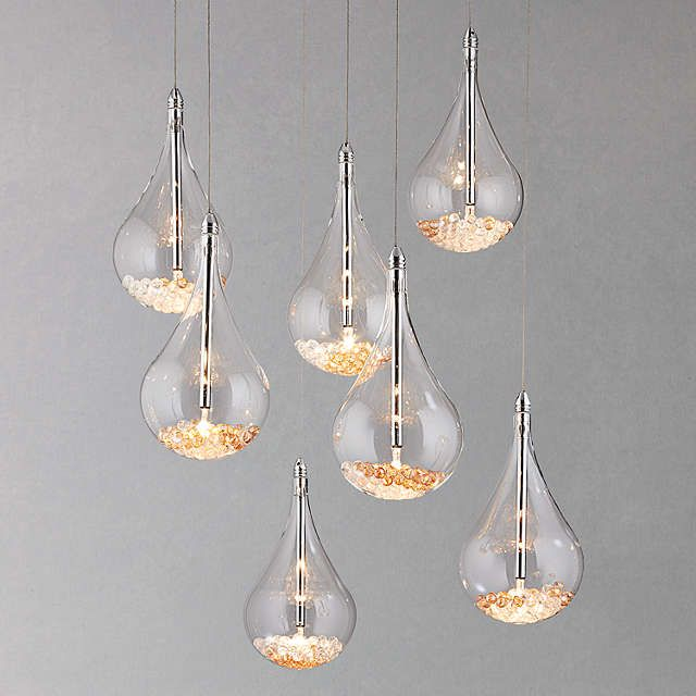 BuyJohn Lewis Sebastian 7 Light Drop Ceiling Light Online at johnlewis.com