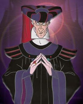 Judge Claude Frollo from The Hunchback of Notre-Dame