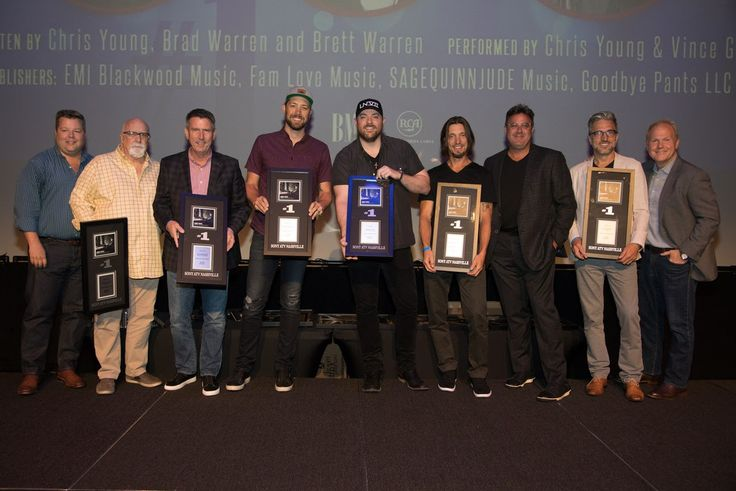 Triple Play: Chris Young Celebrates No. 1 Song, Platinum Album, And Grand Ole Opry Membership : MusicRow – Nashville's Music Industry Publication – News, Songs From Music City