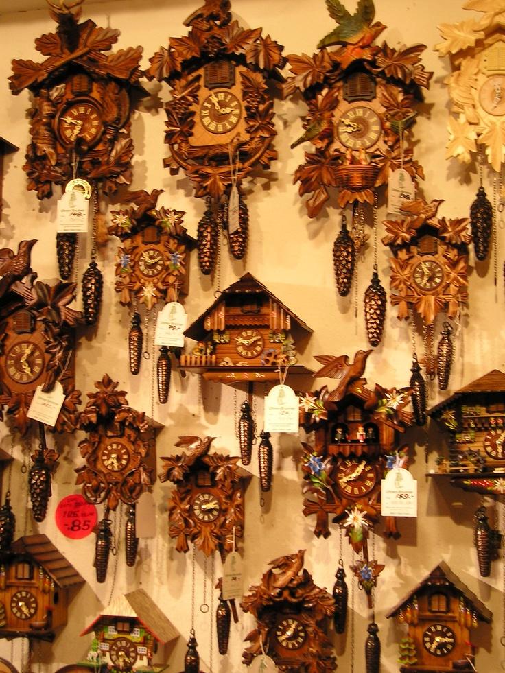 Alemania,Selva negra: Relojes Cu, Reloj Del, Clock, Cucú
