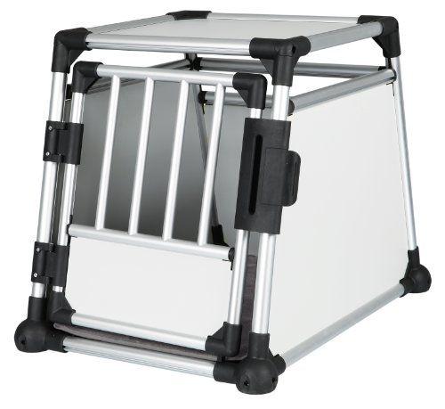 Aus der Kategorie Boxen & Tragetaschen  gibt es, zum Preis von EUR 145,98  <ul><li>mit Aluminiumrahmen</li><li>extra stabil, sicher und geräuscharm</li><li>hochgeschlossene Wände für einen sauberen Standplatz und mehr Sicherheit</li><li>breite Gittereinsätze für gute Belüftung und freie Sicht durch die Heckscheibe</li><li>optimale Ausnutzung des Kofferraums durch abgeschrägte Seiten</li><li>Tür mit Sicherheitsverschluss</li><li>mit rutschfester Thermodecke</li><li>Klettleisten am Boden für…
