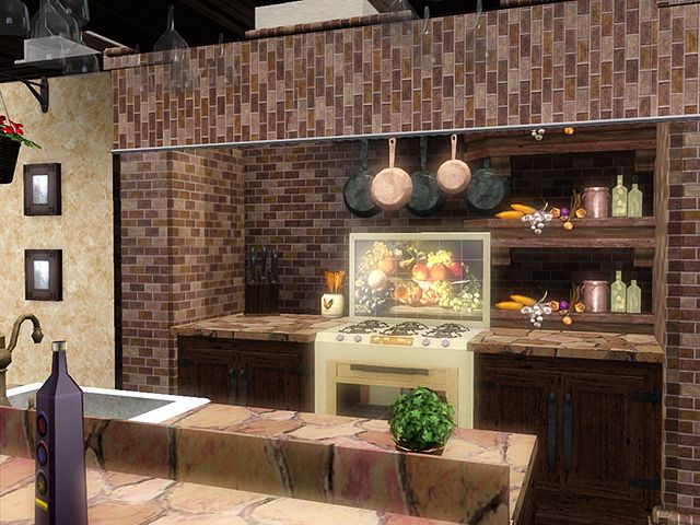 117 best images about sims 3 house ideas on pinterest for Sims 3 kitchen designs