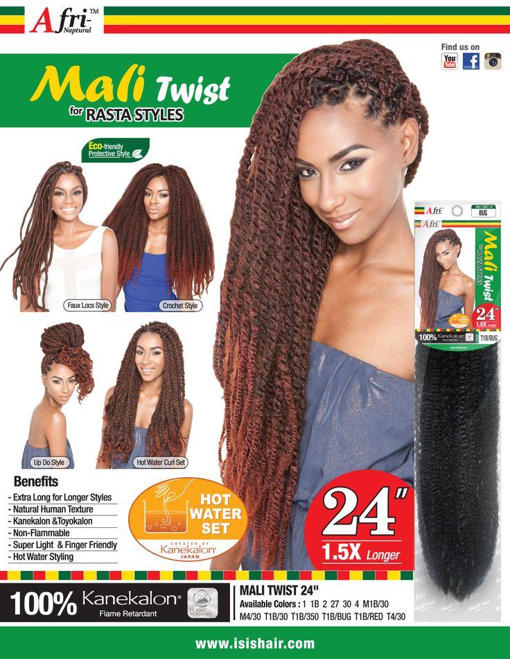 "Mali Twist 24"" Braid Collection 2015 Pinterest Twists"
