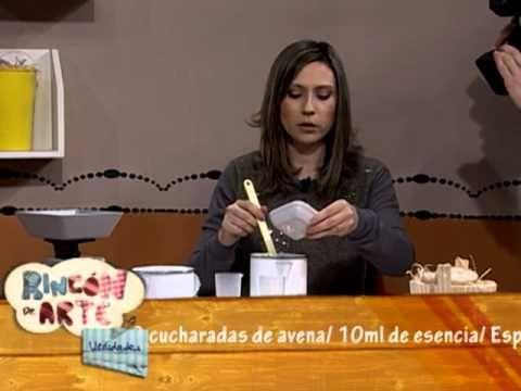 Jabones Artesanales esfoliante de Avena