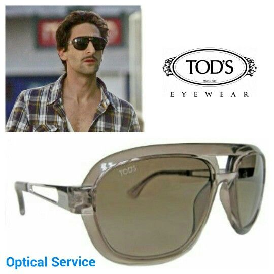 Adrien Brody wearing a TOD'S sunglasses.  Get the look!