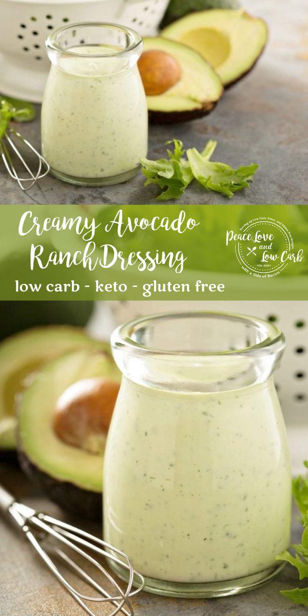 Keto Cremiges Avocado Ranch Dressing | Machen Sie Ihre eigenen Gewürze und Dressings bei …   – Keto Main Dishes