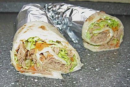 Thunfisch Wrap (Rezept mit Bild) von muttimami | Chefkoch.de
