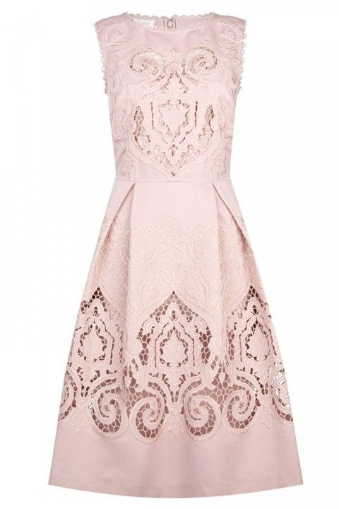 MSGM Lace And Stretch Crepe Mini Dress, £325 - Wedding Guest Dresses: 110 Beautiful Buys