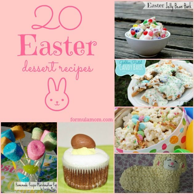 20 easter dessert recipes butter cas and easy easter for Easy dessert recipes for easter