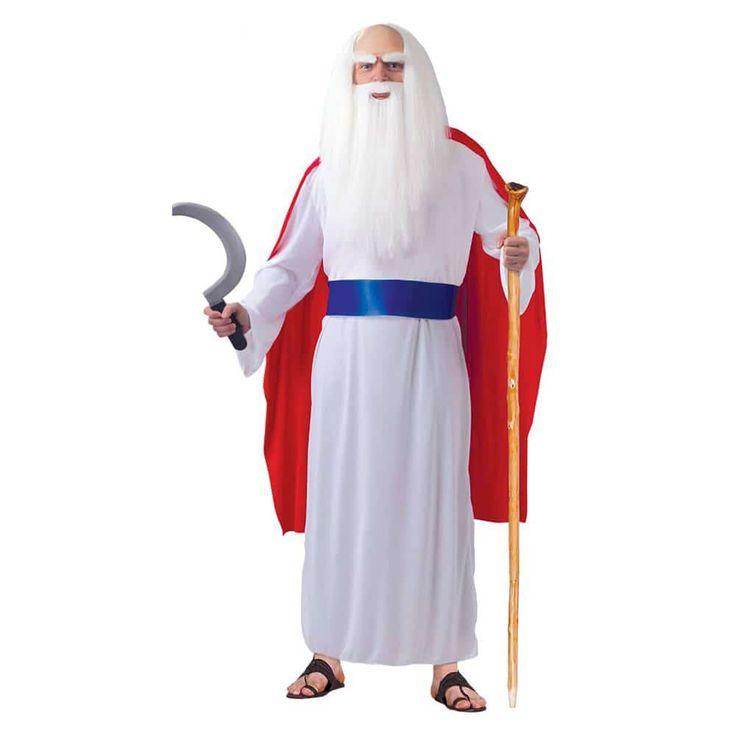 Comprar Disfraz adulto de Panoramix talla L. Ideal para formar grupo de disfraces con el disfraz de Obelix y Asterix. Todos estos disfraces y más lo puedes ver en nuestra tienda online de disfraces disfracestuyyo.com o en nuestra tienda física en Madrid en el distrito de Tetuán.