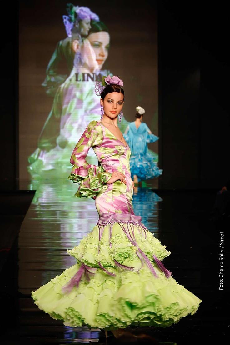www.lina1960.com Trajes de Flamenca Moda Flamenca Gitana