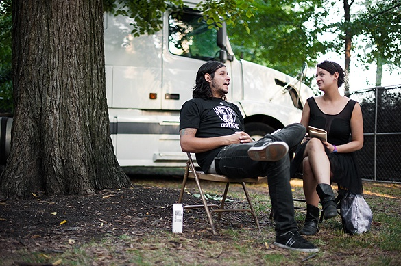 My Lollapalooza interview article with Benny Horowitz of The Gaslight Anthem. Photos by Brendan Shanley.