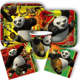 te the perfect party atmosphere for your little Kung Fu fans with the help of Po, Tigress, Crane, Viper, Monkey and Mantis that decorate these fantastic birthday themed products. The wily panda and t