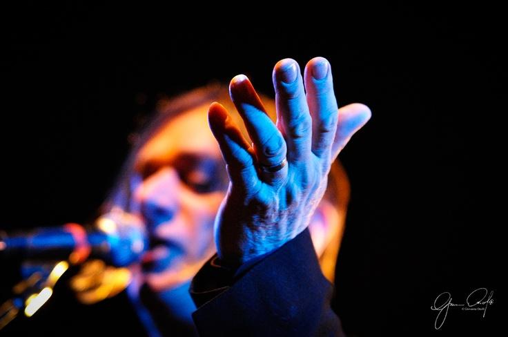 Blixa Bargeld live by ©Giovanna Onofri