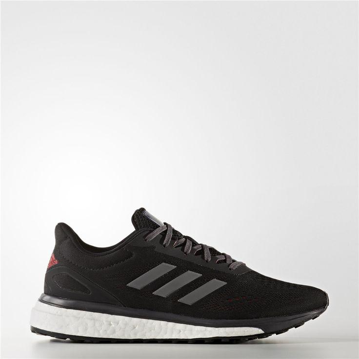 Adidas Women Response Limited Running Shoes - 11 - Black, Size: 11 (M) U.