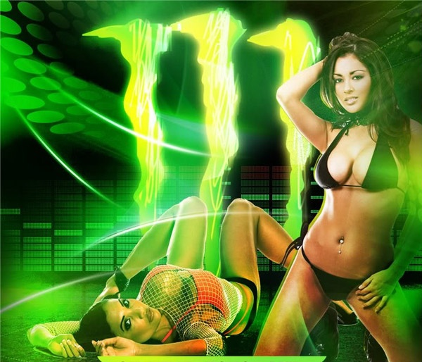 Monster Energy babes