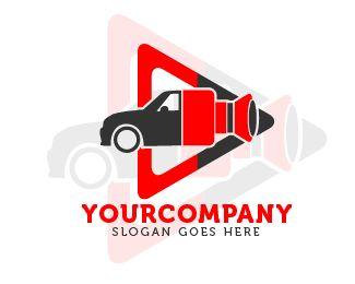 logo play videocar Logo design - this logo for video digital company Price $85.00