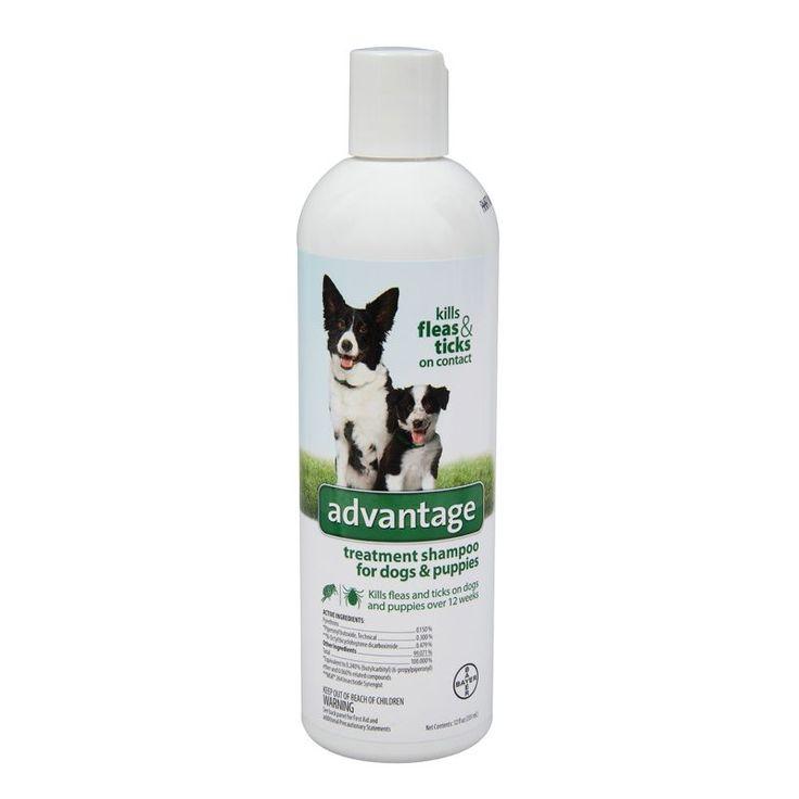 Advantage Flea And Tick Dog Shampoo 12oz