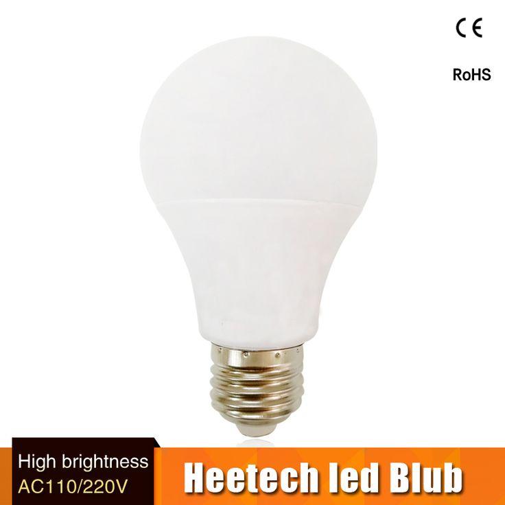 Top kualitas lampa lampu led bulb e27 B22 3 w 5 w 7 w 9 w 12 w 15 w untuk 110 v 127 v 220 v 230 v Hemat Energi Pencahayaan Rumah aluminium pendingin