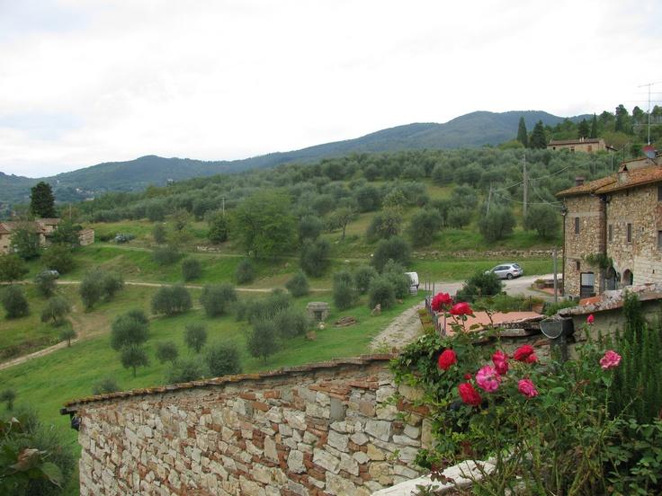 Tuscany, Castello Delle Trebbio