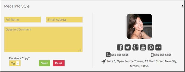 New template added Super Forms Pro #joomla #uikit #forms